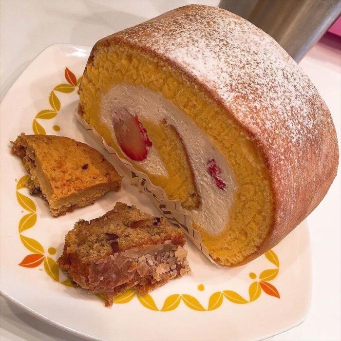 ビスキュイの人気メニュー/ふわふわロールケーキ