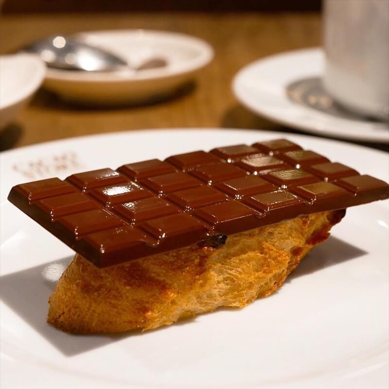 カカオストアの人気メニュー/トーストショコラ