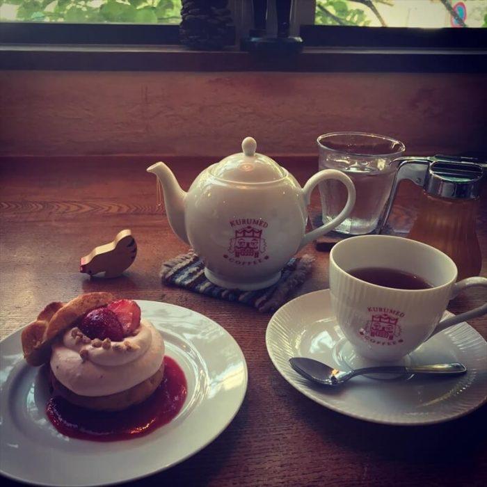 クルミドコーヒーの人気メニュー/クルミドケーキクリームいちご Ⅱ