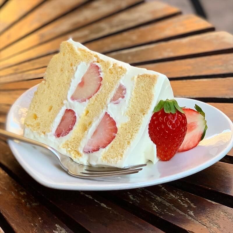 ラ・ファミーユの人気メニュー/いちごケーキ