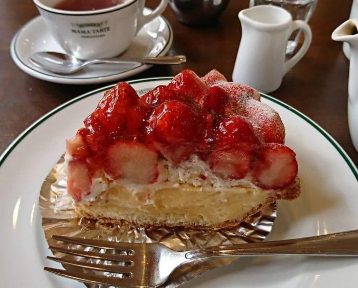 ママタルトの人気メニュー/いちごのパイ
