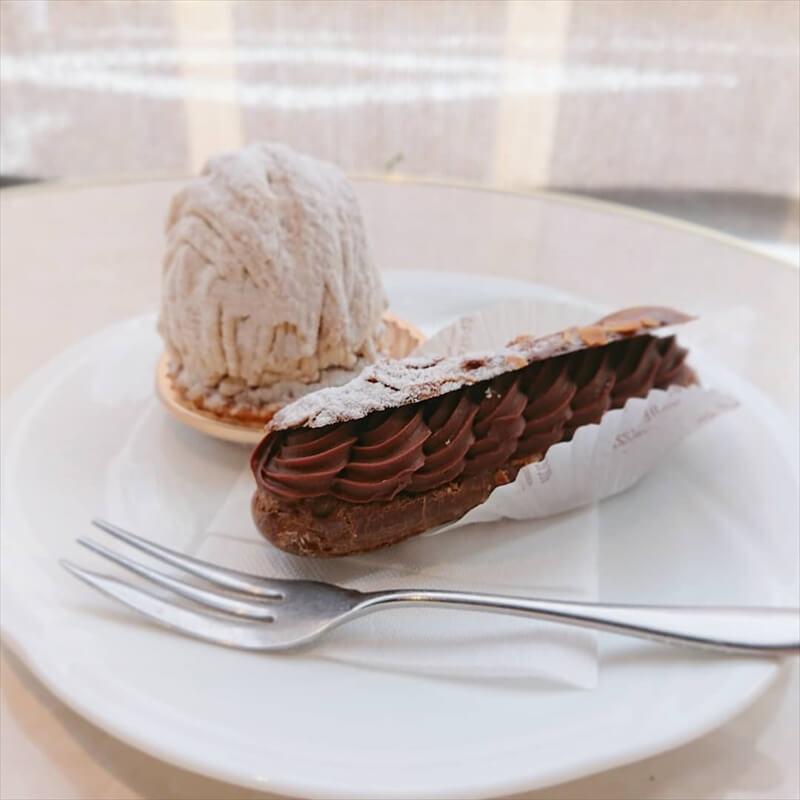 リュードパッシーの人気メニュー/エクレールショコラとモンブラン