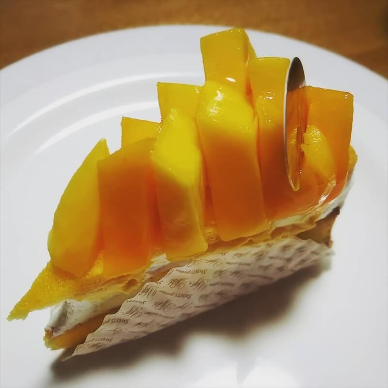スイーツガーデンユウジアジキの人気メニュー/完熟マンゴーとレアチーズのタルト