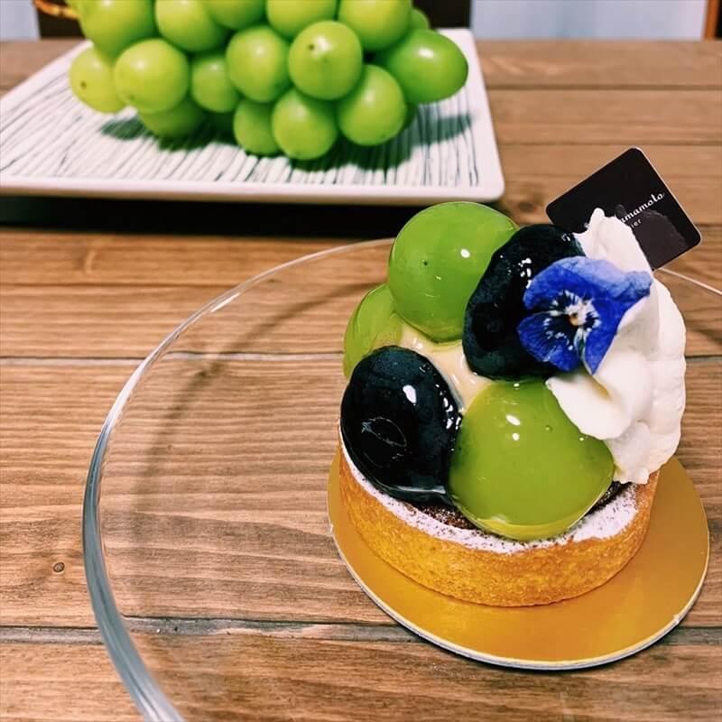 ヒロ ヤマモトの人気メニュー/マスカットのタルト