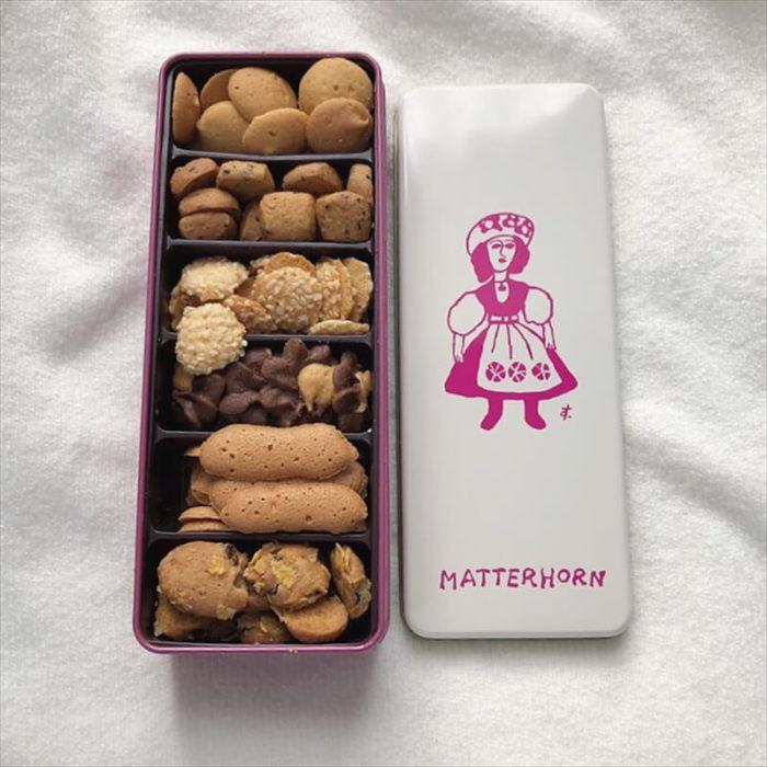 マッターホーンの人気メニュー/クッキー缶