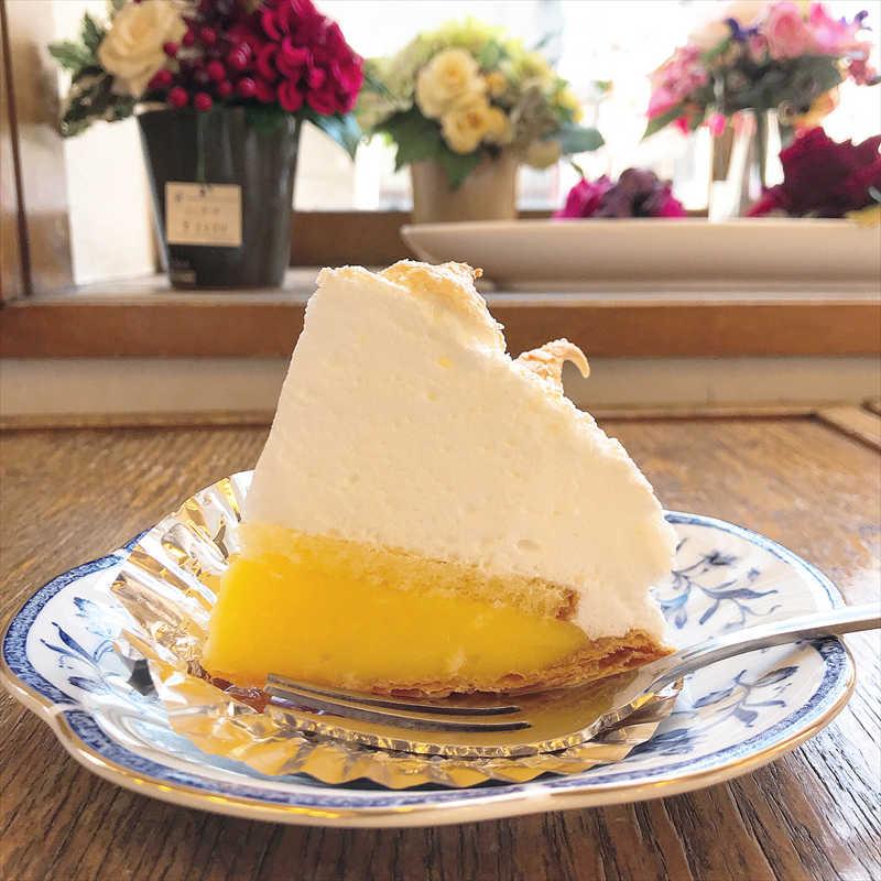 レモンパイ洋菓子店の人気メニュー/レモンパイ