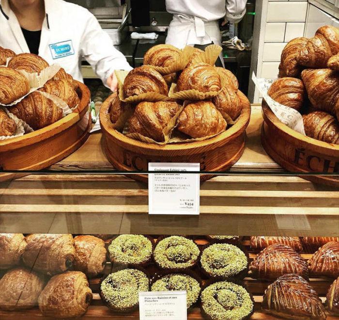 エシレ メゾン デュ ブールのベーカリーコーナー