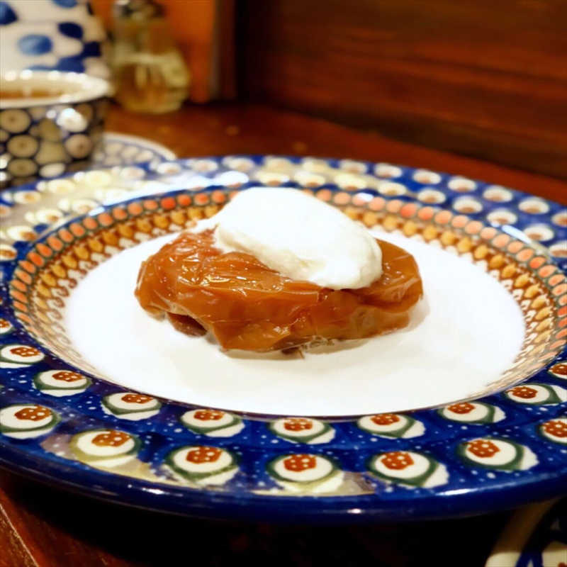 カフェ香咲の人気メニュー/焼きりんご