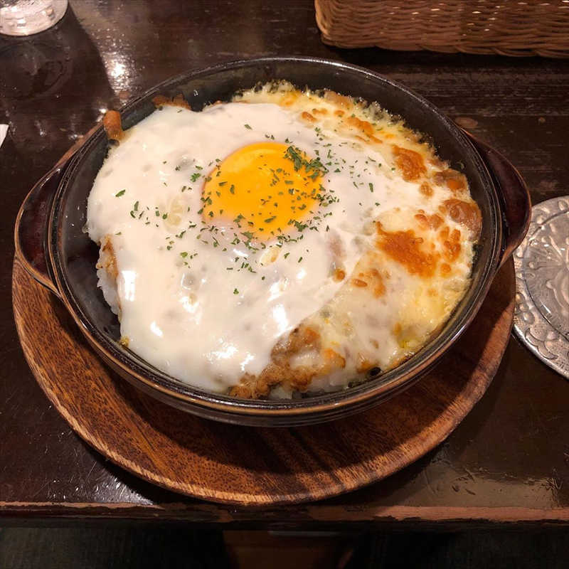 カフェ香咲の人気メニュー/焼きチーズカレーライス
