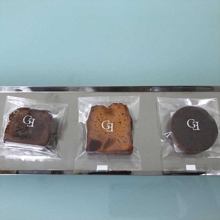 グランディール・アンサンブルの焼き菓子