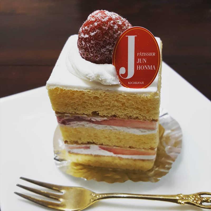 ジュン ホンマの人気メニュー/苺のショートケーキ