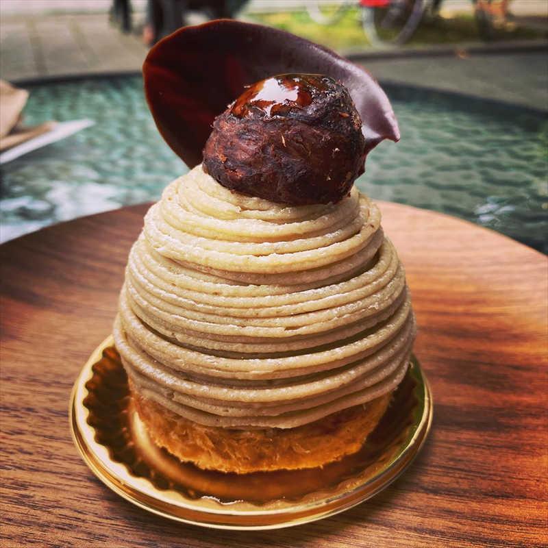 エチエンヌの人気メニュー/和栗のモンブランパイ