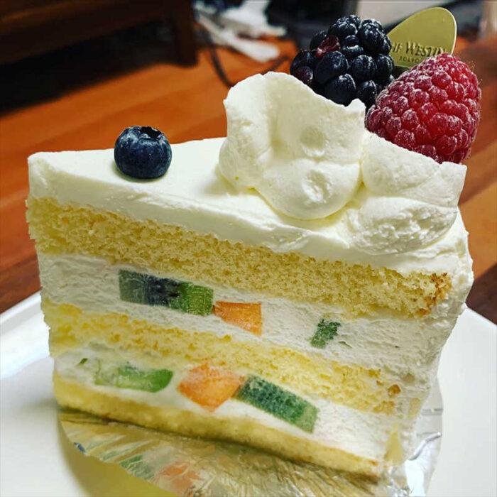 ウェスティンデリの人気メニュー/クラッシックフルーツショートケーキ