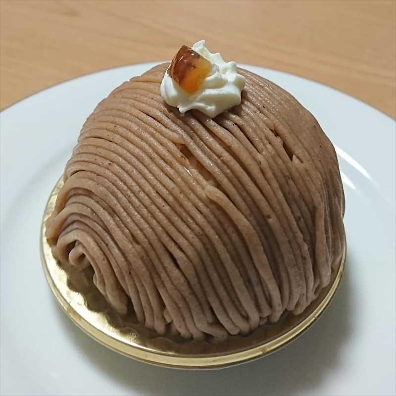 パティシエ・シマ/人気のスイーツ/モンブラン