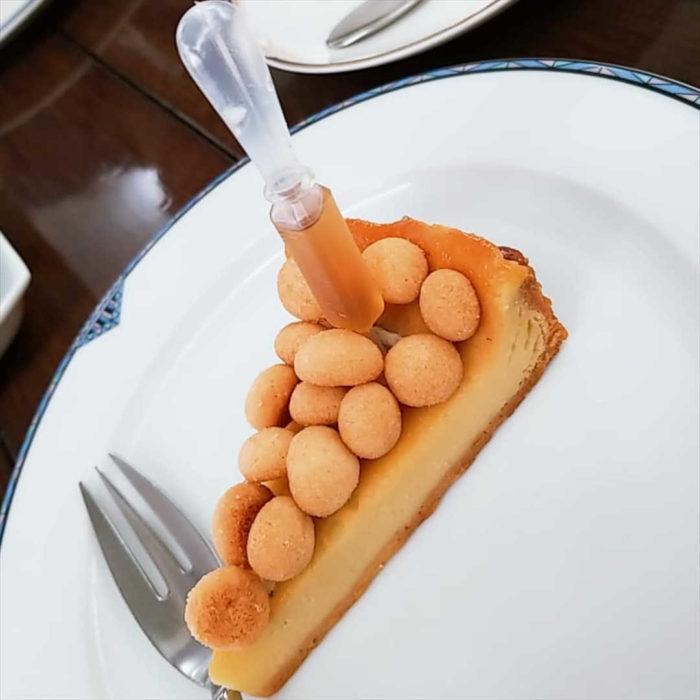 パーラー ローレルの人気メニュー/ゴルゴンゾーラチーズケーキ