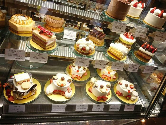 スイーツガーデン・ユウジ・アジキのホールケーキ