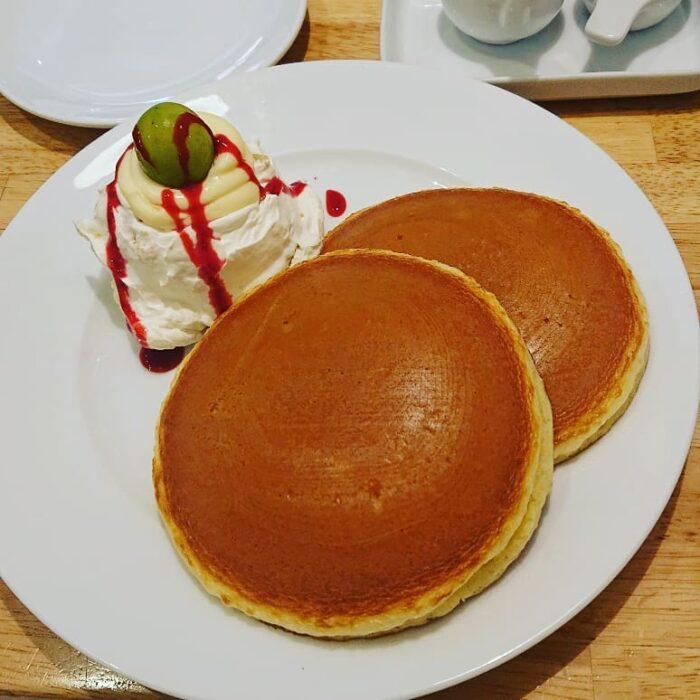 ホットケーキパーラーフルフル/フルーツクリームホットケーキ